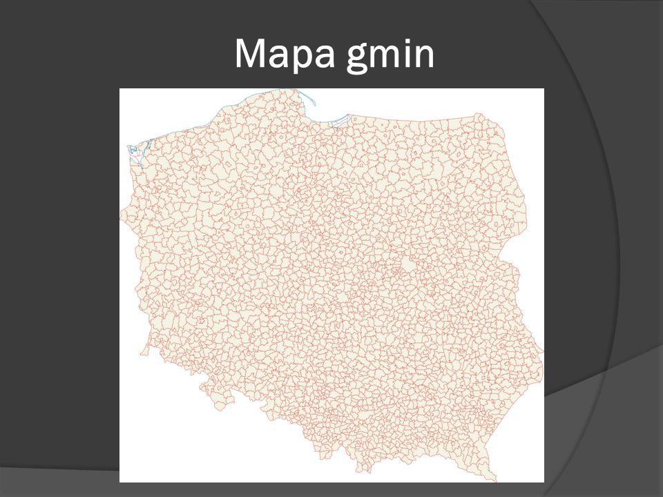 Mapa gmin