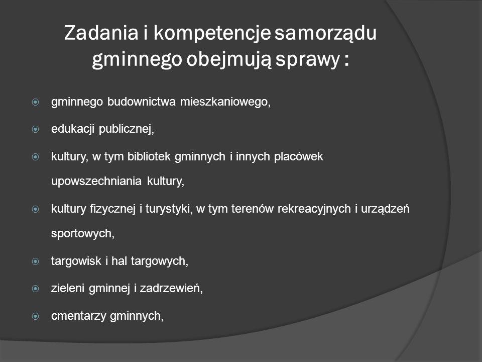 Samorząd powiatowy posiada możliwość kształtowania własnej wewnętrznej organizacji, m.