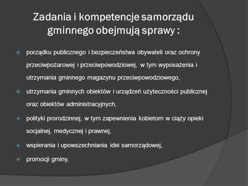 Struktura sejmiku Sejmik województwa wybiera ze swojego grona przewodniczącego i wiceprzewodniczących, którzy nie mogą wchodzić w skład zarządu województwa, a więc w skład organu wykonawczego.