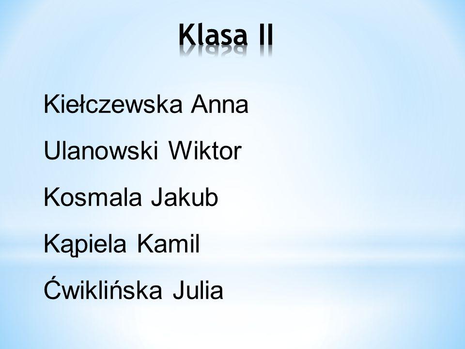 Matuszak Radek Frejda Oskar Płatek Aleksandra Nowaczyk Kamil Jaroszewski Szymon