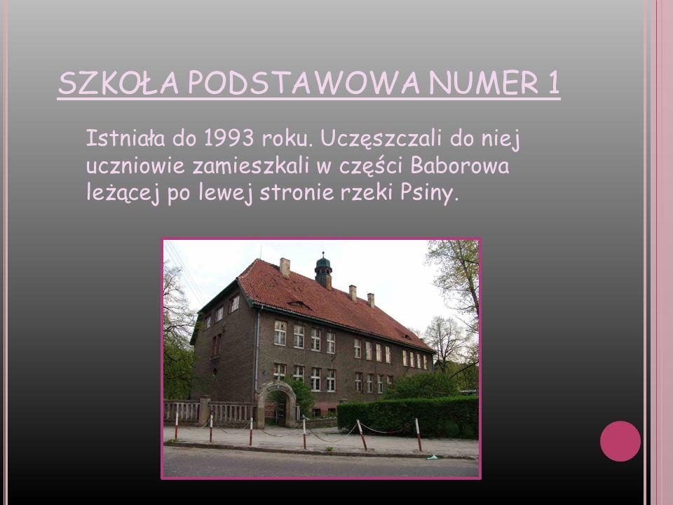 S ZKOŁA PODSTAWOWA NUMER 2 Mieściła się w dwóch budynkach leżących przy ulicy Opawskiej.