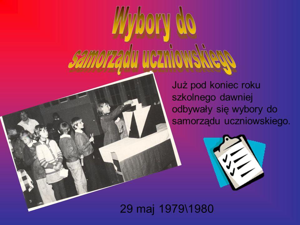 Już pod koniec roku szkolnego dawniej odbywały się wybory do samorządu uczniowskiego.