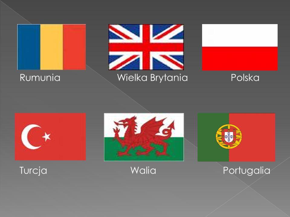 Rumunia Wielka Brytania Polska Turcja Walia Portugalia