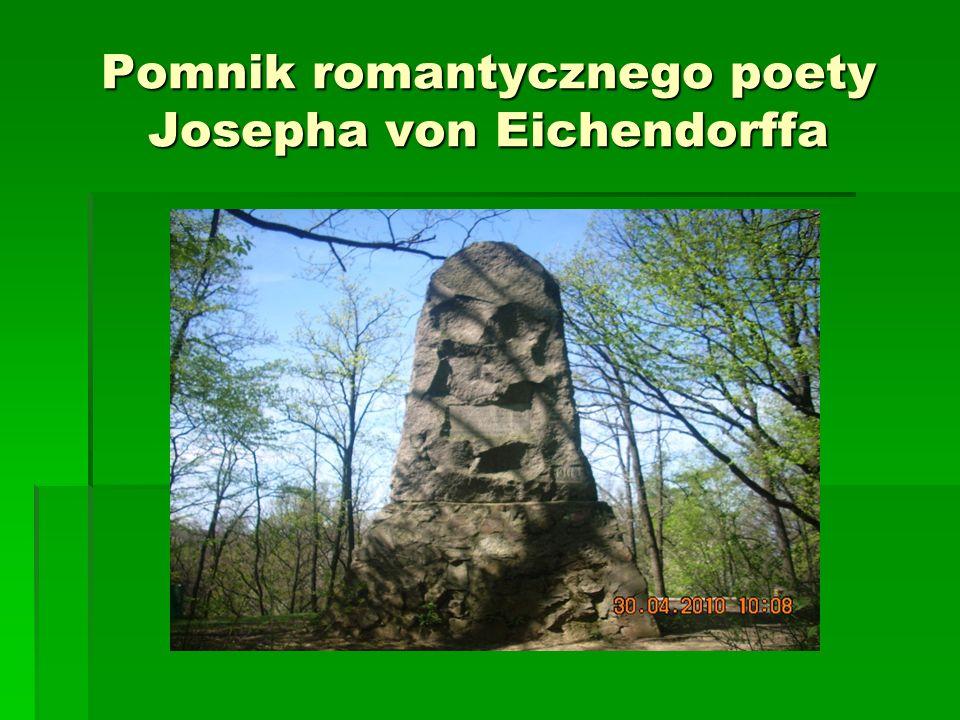 Pomnik romantycznego poety Josepha von Eichendorffa