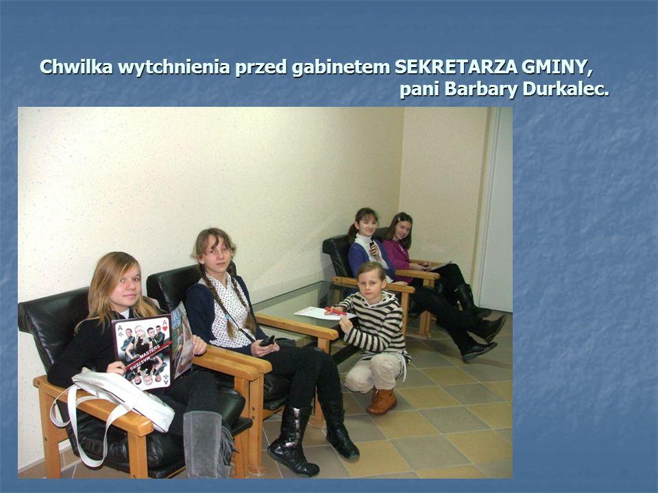 Poznajemy referaty urzędu. Jak poinformował nas Wiceburmistrz Korniak w Urzędzie MiG pracuje obecnie 65 osób.