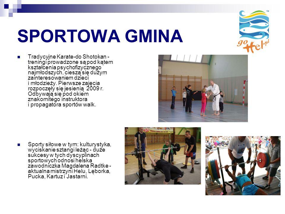 SPORTOWA GMINA Tradycyjne Karate-do Shotokan - treningi prowadzone są pod kątem kształcenia psychofizycznego najmłodszych, cieszą się dużym zainteresowaniem dzieci i młodzieży.