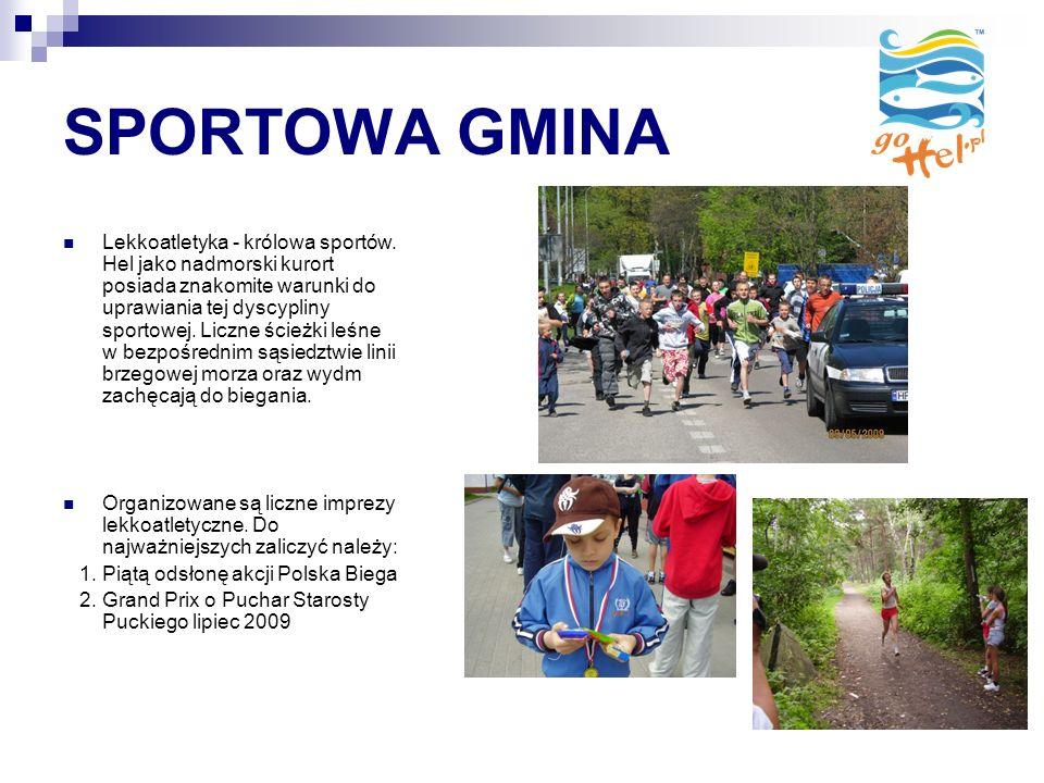 SPORTOWA GMINA Lekkoatletyka - królowa sportów.