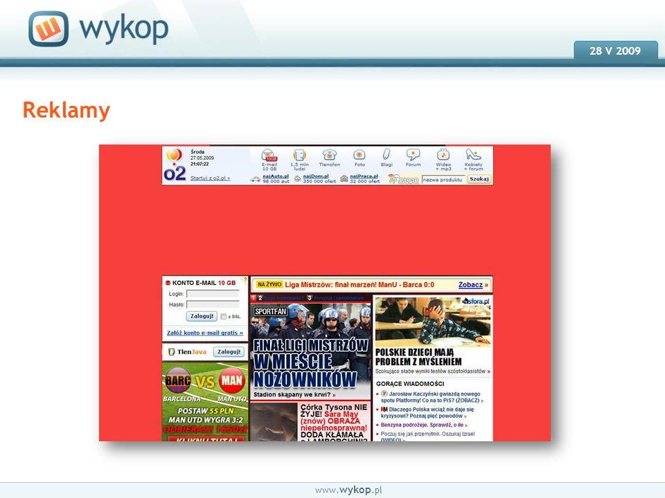 18.03.2008 28 V 2009 www. wykop.pl Email