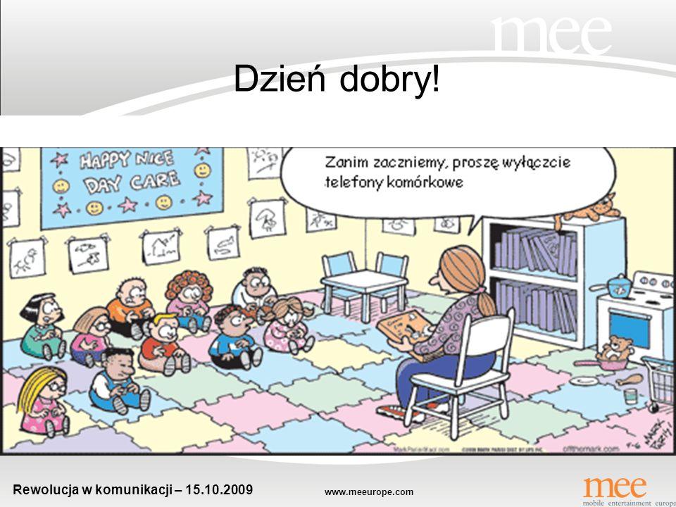 www.meeurope.com Rewolucja w komunikacji – 15.10.2009 www.meeurope.com Gry reklamowe – Internet + Mobile Robert Stopyra mobile entertainment europe
