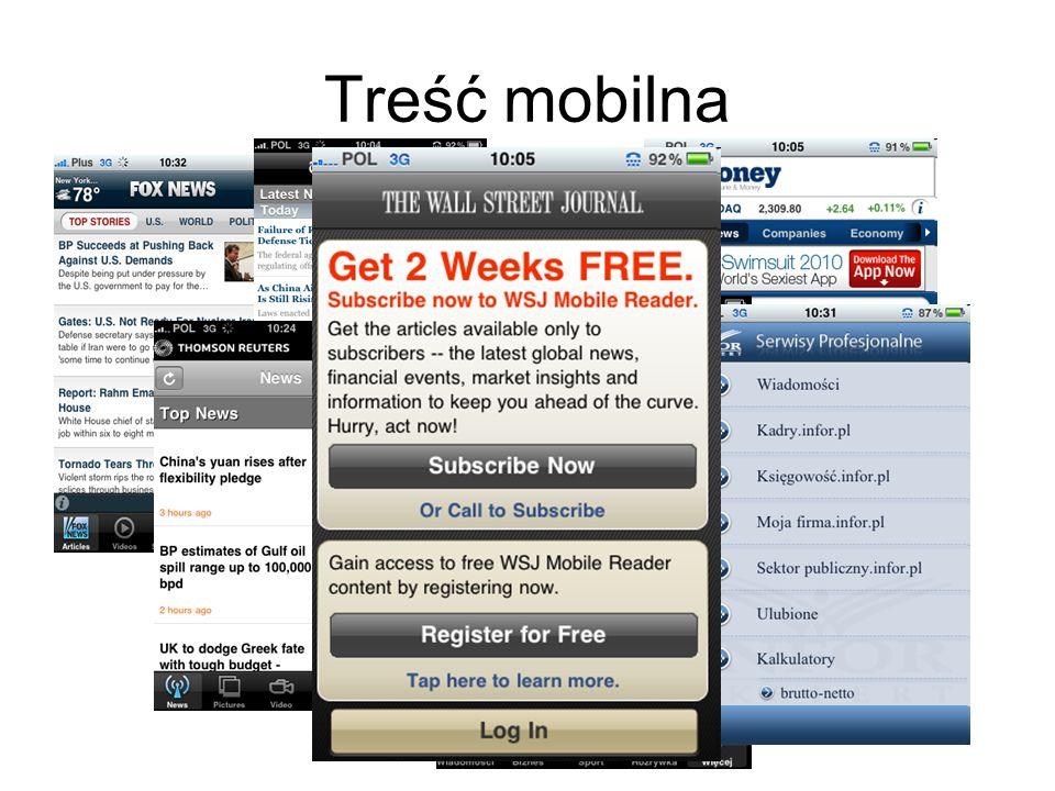Treść mobilna