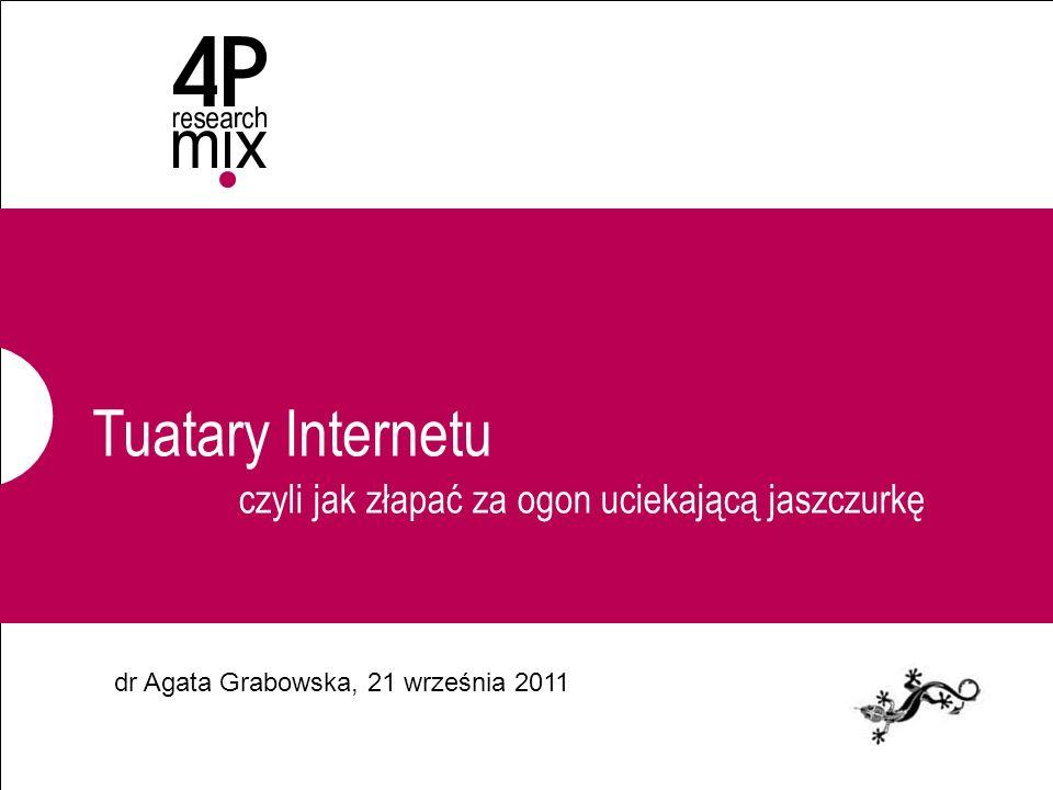 Tuatary Internetu dr Agata Grabowska, 21 września 2011 czyli jak złapać za ogon uciekającą jaszczurkę