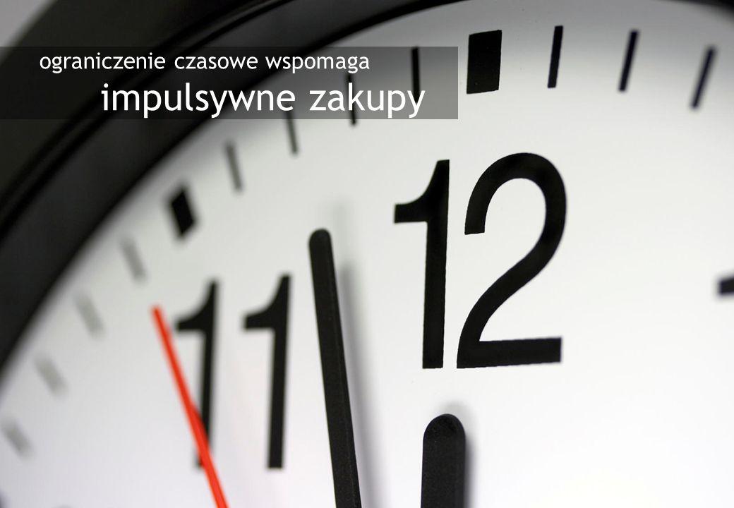 3 ograniczenie czasowe wspomaga impulsywne zakupy