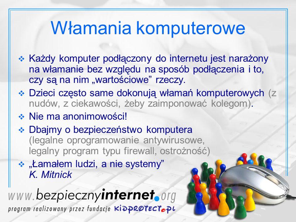 Dziękuję za uwagę :-) jakub@kidprotect.pl www.kidprotect.pl www.BezpiecznyInternet.org
