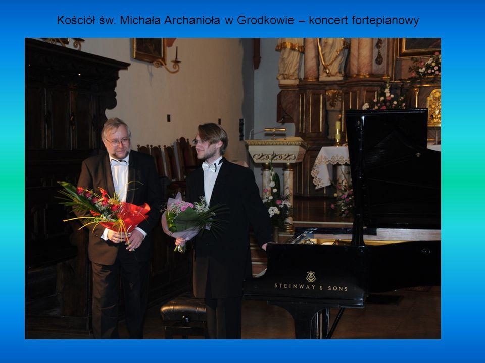 Kościół św. Michała Archanioła w Grodkowie – koncert fortepianowy