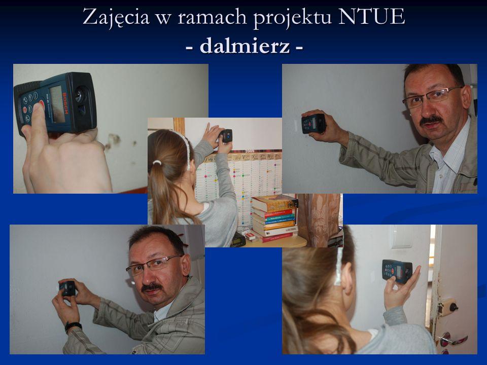 Zajęcia w ramach projektu NTUE - dalmierz -