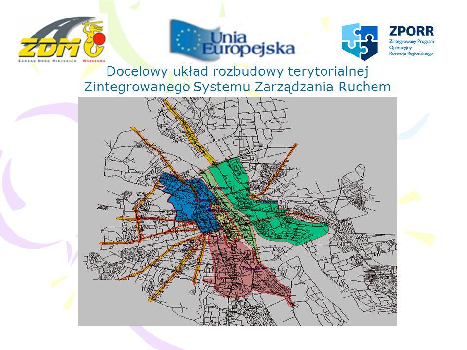 Czynniki określające zasięg terytorialny obszaru I Konieczność integracji systemu w tunelu pod Wisłostradą z miejskim systemem sterowania ruchem Konieczność zapewnienia uruchamiania sprawnych objazdów w sytuacjach awaryjnych zaistniałych w tunelu pod Wisłostradą Stopień modernizacji sygnalizacji świetlnych w rejonie Powiśla Kontrola ruchu na wszystkich przeprawach mostowych po lewobrzeżnej stronie Warszawy Uruchomienie uprzywilejowań dla komunikacji szynowej wzdłuż Al.