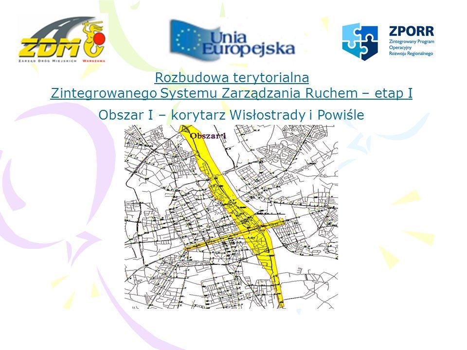 Rozbudowa terytorialna Zintegrowanego Systemu Zarządzania Ruchem – etap I Obszar II – Śródmieście