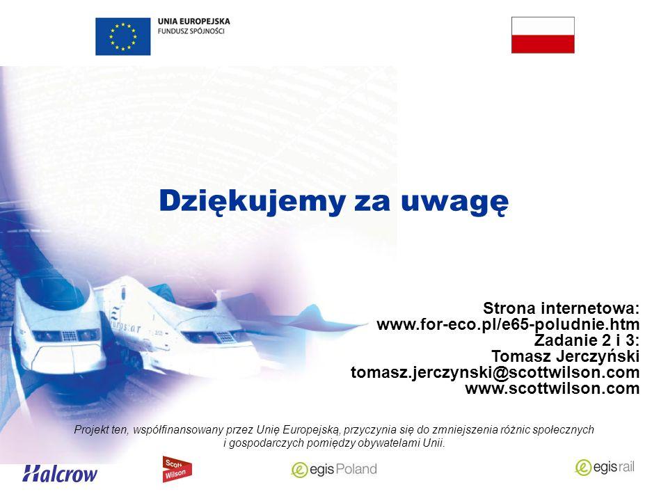 Dziękujemy za uwagę Projekt ten, współfinansowany przez Unię Europejską, przyczynia się do zmniejszenia różnic społecznych i gospodarczych pomiędzy obywatelami Unii.