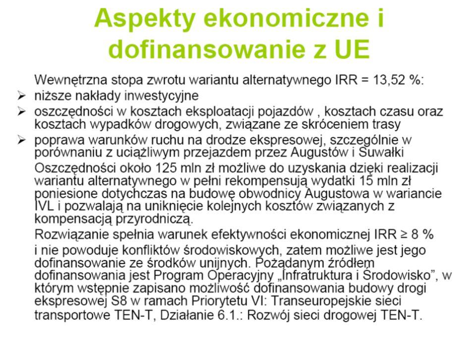 Terminy wykonania inwestycji Terminy oszacowano na podstawie analogicznych inwestycji w innych rejonach Polski.