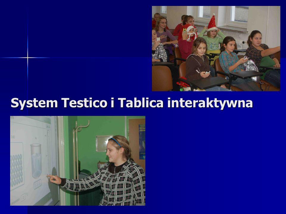 System Testico i Tablica interaktywna