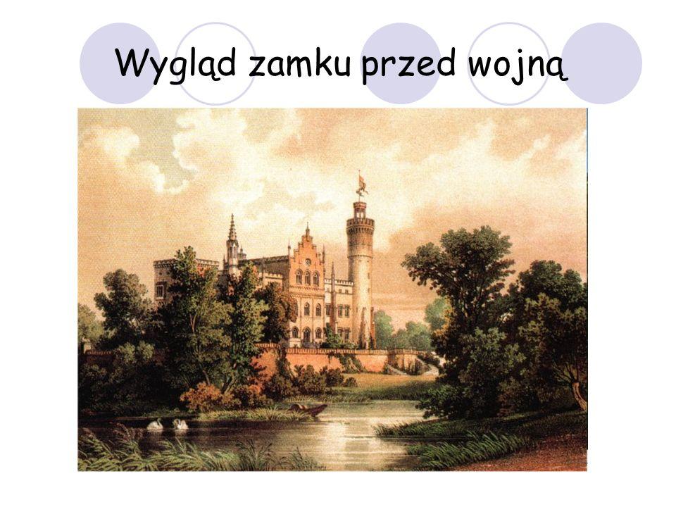 Wygląd zamku przed wojną