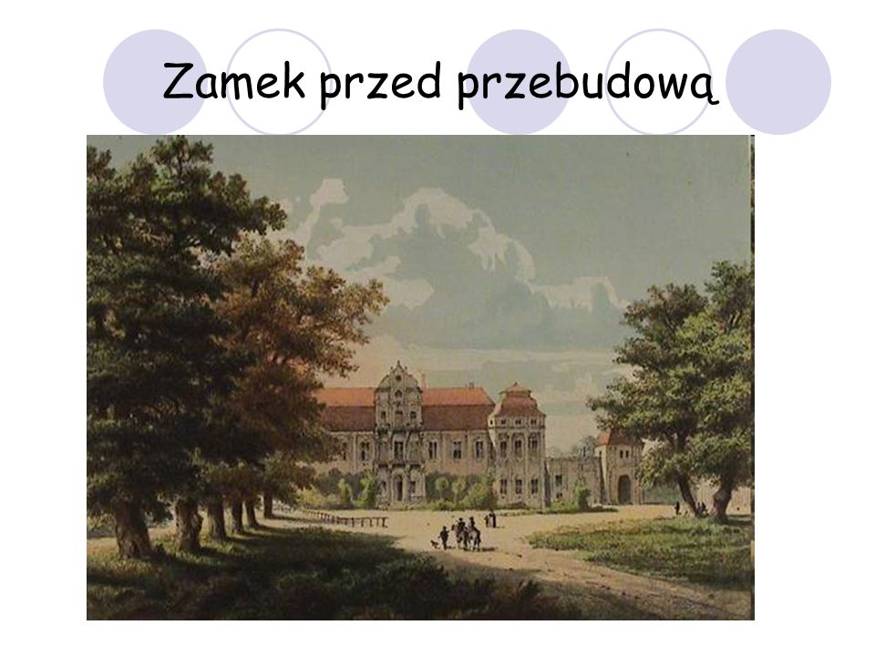 Zamek przed przebudową
