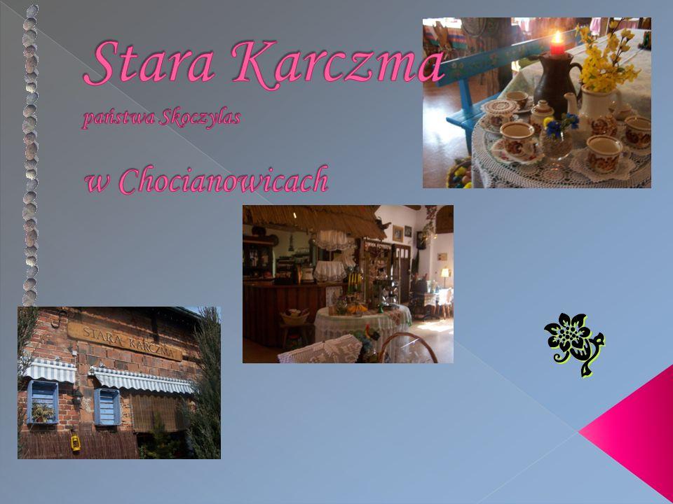Adres: Stara Karczma Chocianowice 35 46-280 Lasowice Małe Tel.: (0048) 77 413-27-25 E-mail: barstarakarczma@interia.pl Skype: stkarczma YouTube: stkarczmaKOLOT WWW: www.starakarczma.e-kolot.pl WWW: www.starakarczma.e-kolot.pl