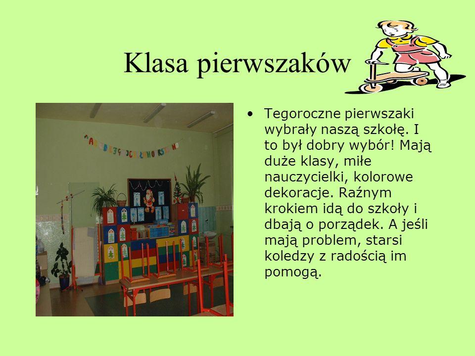 Szkolny gabinet logopedyczny W naszej szkole dzieci z problemami wymowy objęte są specjalistyczną opieką. Miła pani logopeda zmieni sepleniącego chłop