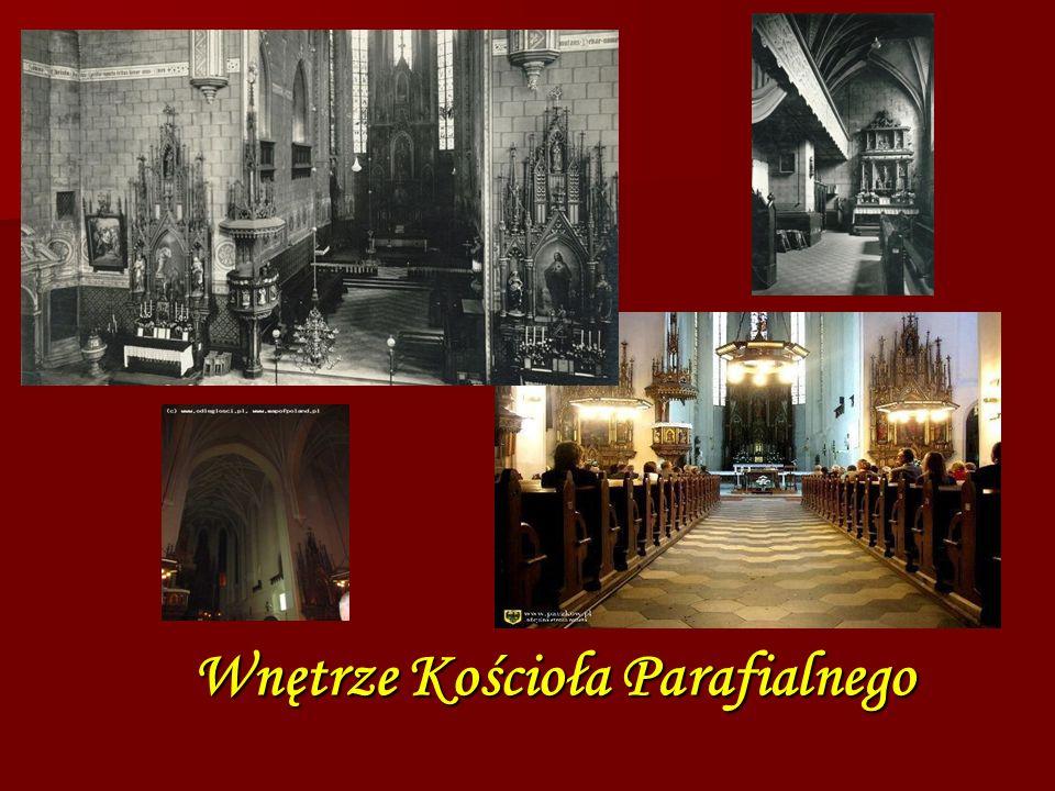 Wnętrze Kościoła Parafialnego