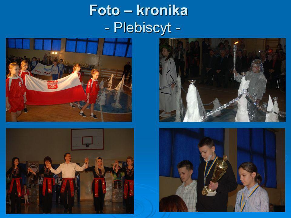 Foto – kronika - Plebiscyt -
