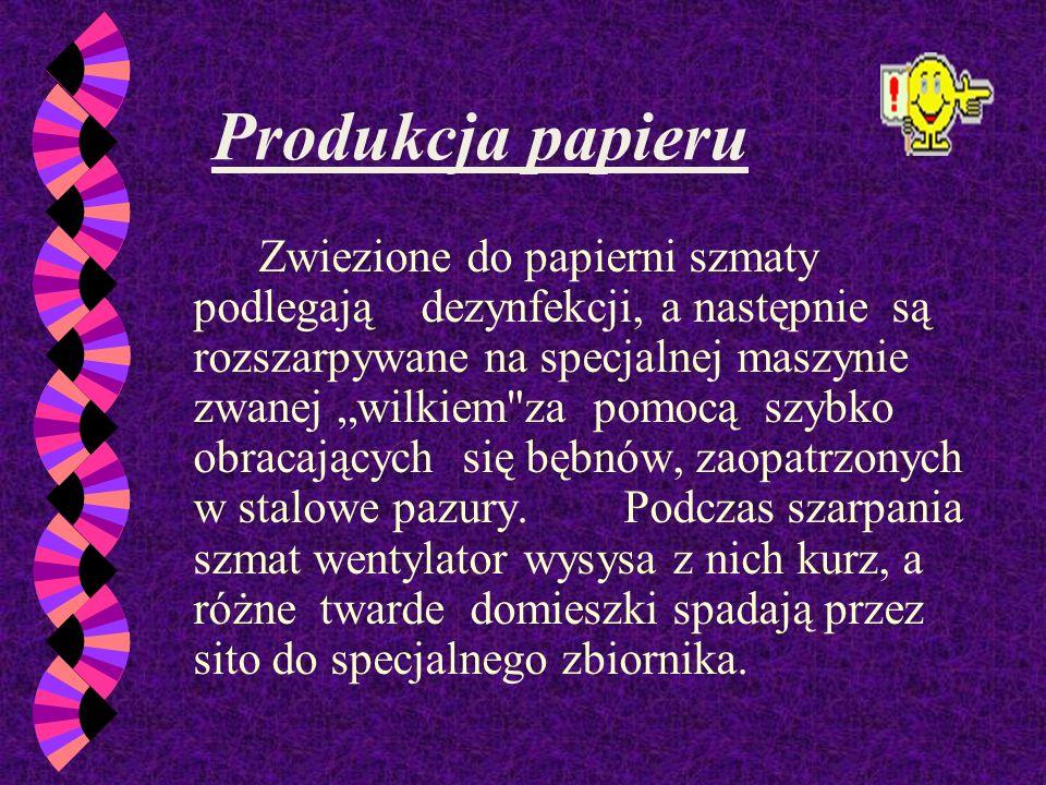 Do Polski papier dotarł około XV wieku