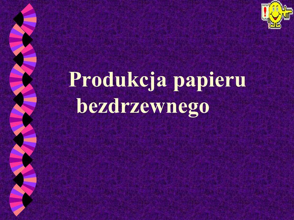 Zasadniczo rozróżnia się dwie grupy papierów : - papiery bezdrzewne (nie zawierające ścieru drzewnego); - papiery drzewne (zawierające ścier drzewny).