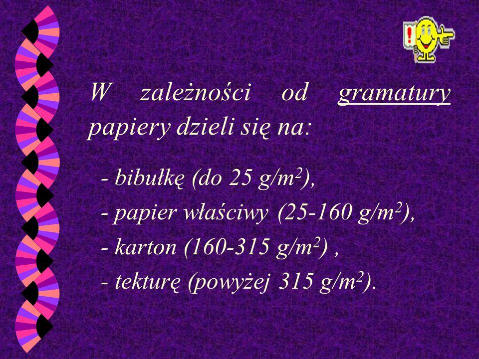 Pojęcie klasa papieru odnosi się do jego jaskrawości. Jaskrawość jest to ilość światła odbijana od powierzchni materiału. Papier o większej jaskrawośc