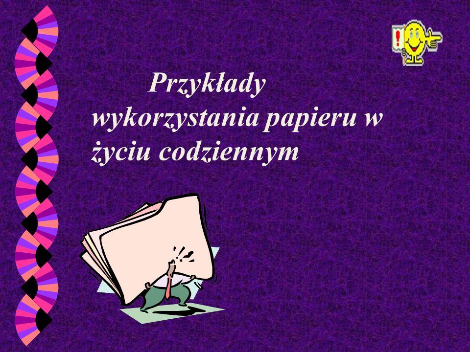 papier ekologiczny - to produkt powstały z nieprzydatnej już makulatury, nie zagrażający ani środowisku naturalnemu, ani człowiekowi.