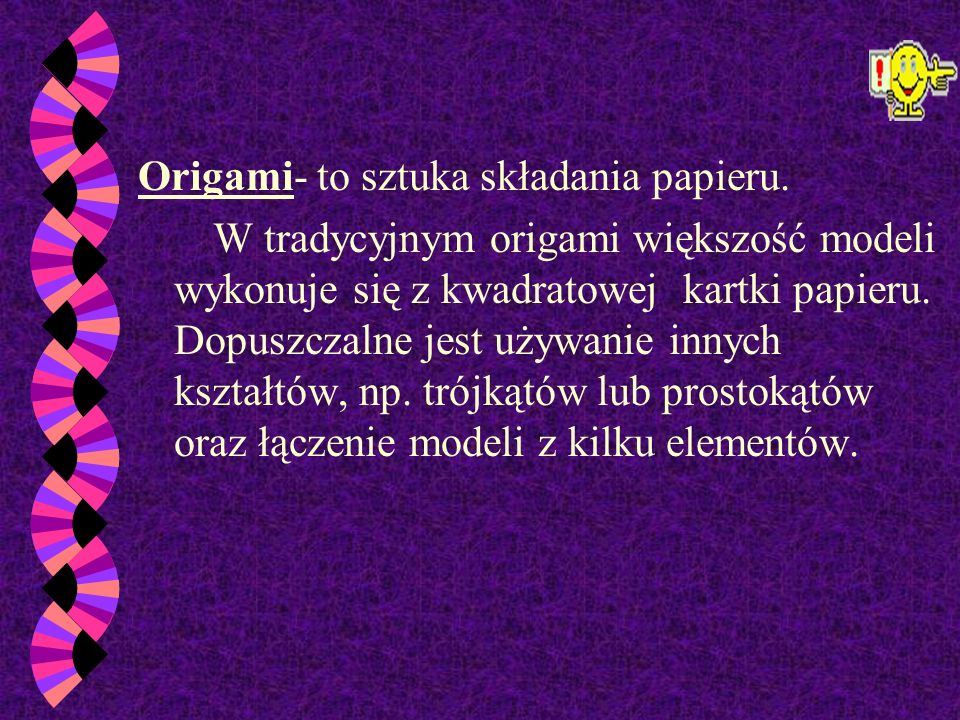 Technika Origami
