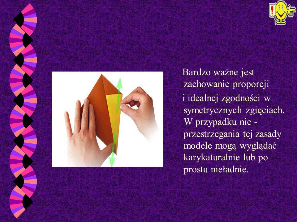 W czasie składania nie używa się nożyczek i kleju. Wykonany model nie wymaga dodatkowych zabiegów, jak na przykład: malowania lub doklejania elementów