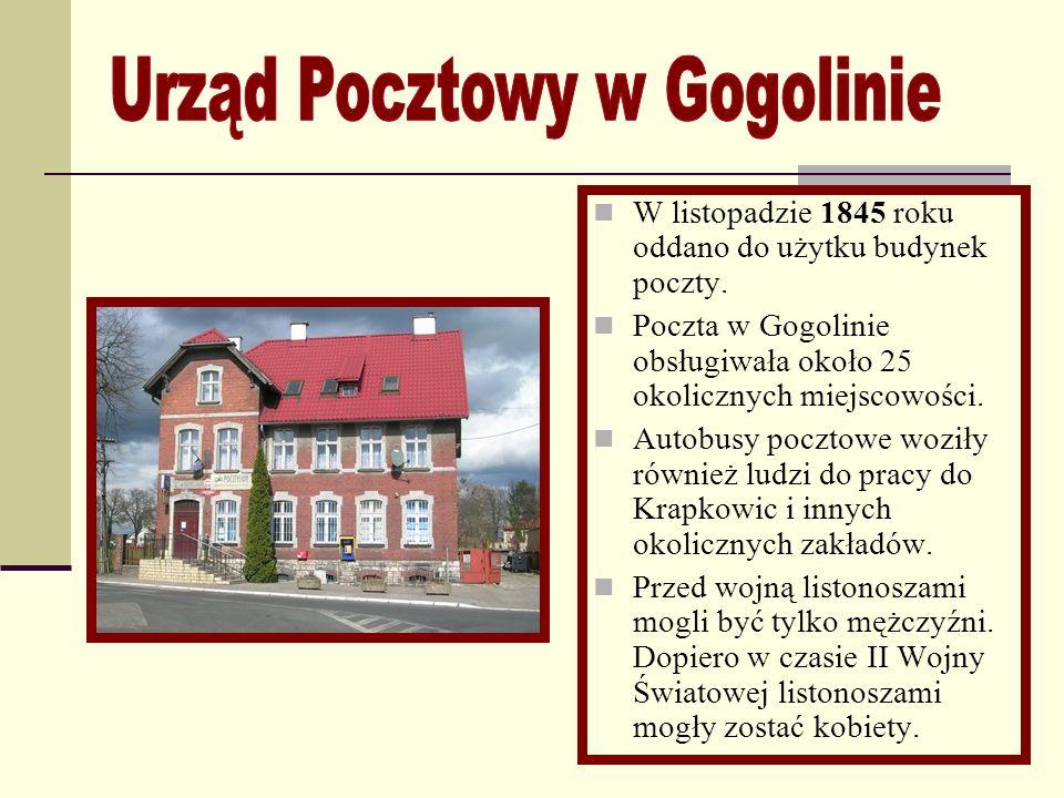 W latach 1908-09 w Gogolinie naprzeciwko szkoły wybudowano mały ewangelicki Kościółek. Msze w kościele odprawiano co 2 tygodnie. Pastorów dowożono z K
