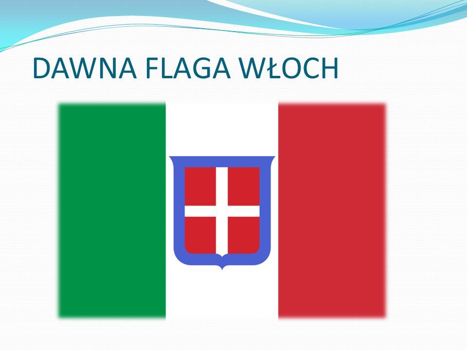 DAWNA FLAGA WŁOCH
