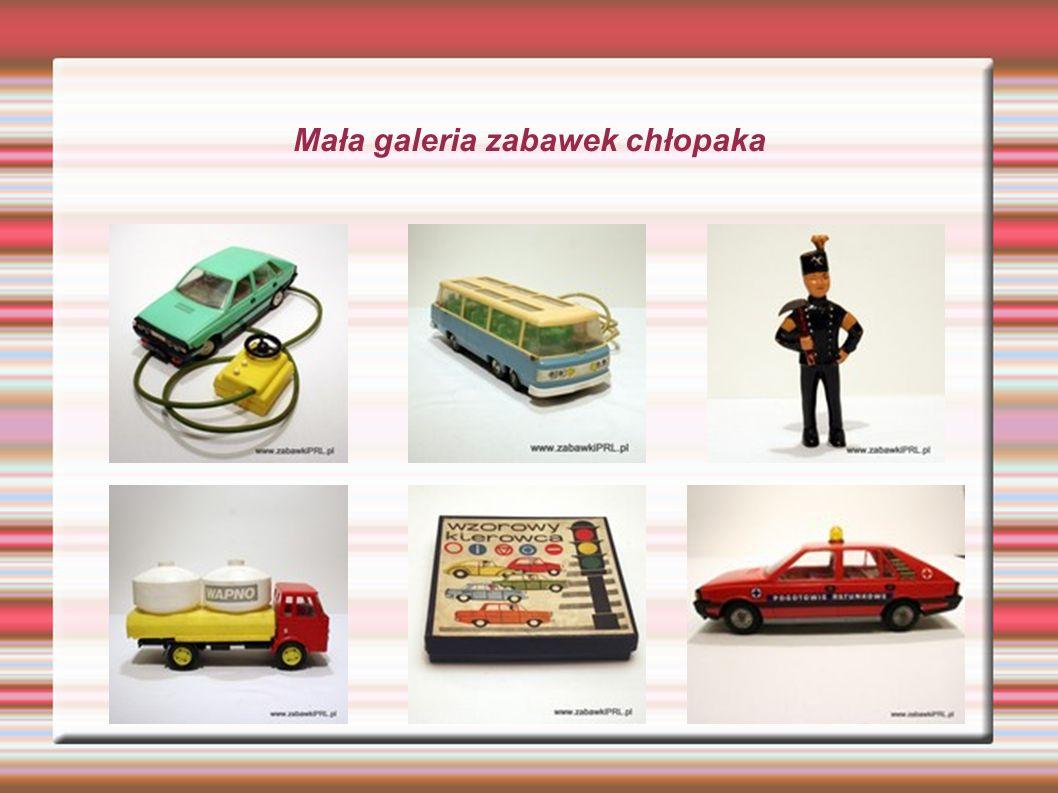 Zabawki PRL-u Zabawki PRL-u tak jak i te dzisiejsze nie mają na celu tylko bawić ale i...