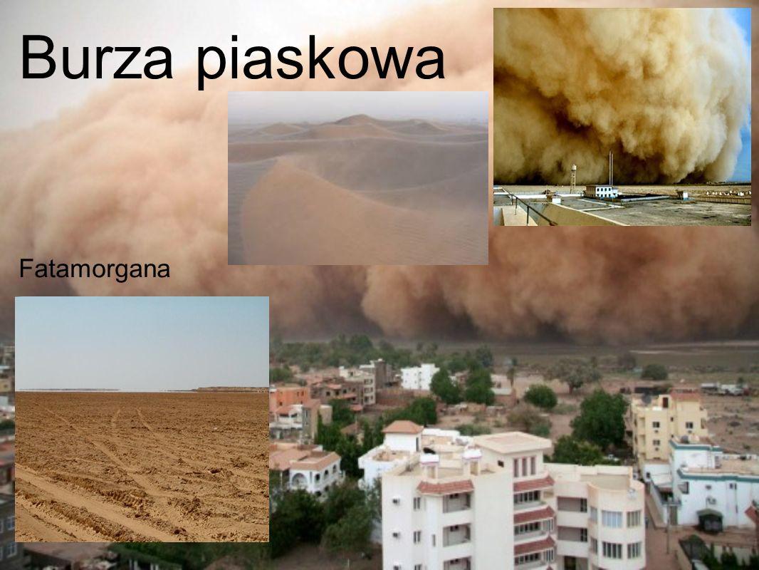 Burza piaskowa Fatamorgana
