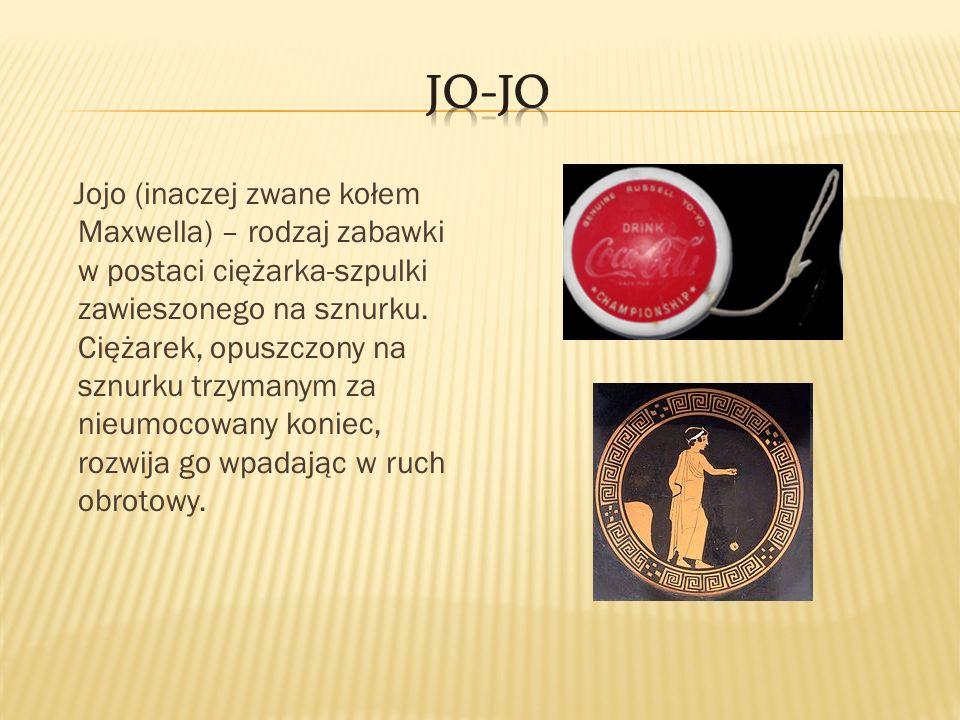 Jojo (inaczej zwane kołem Maxwella) – rodzaj zabawki w postaci ciężarka-szpulki zawieszonego na sznurku. Ciężarek, opuszczony na sznurku trzymanym za