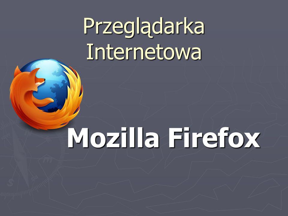 Przeglądarka Internetowa Mozilla Firefox