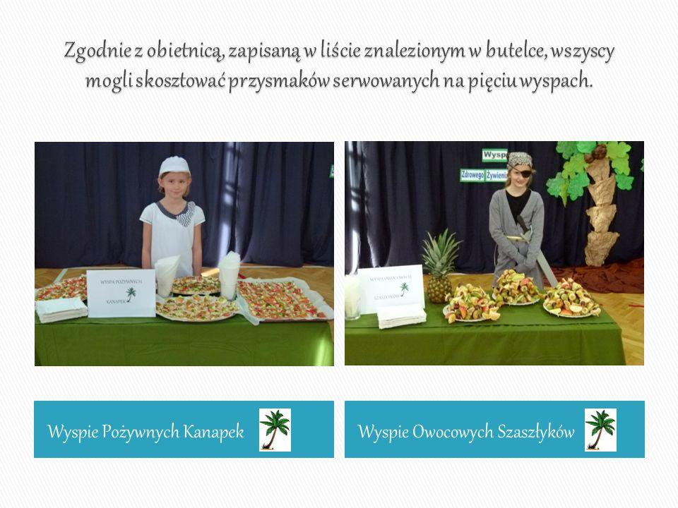 Wyspie Pożywnych KanapekWyspie Owocowych Szaszłyków