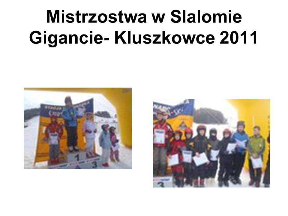 Mistrzostwa w Slalomie Gigancie- Kluszkowce 2011