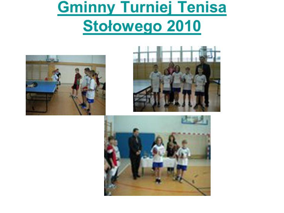 Gminny Turniej Tenisa Stołowego 2010