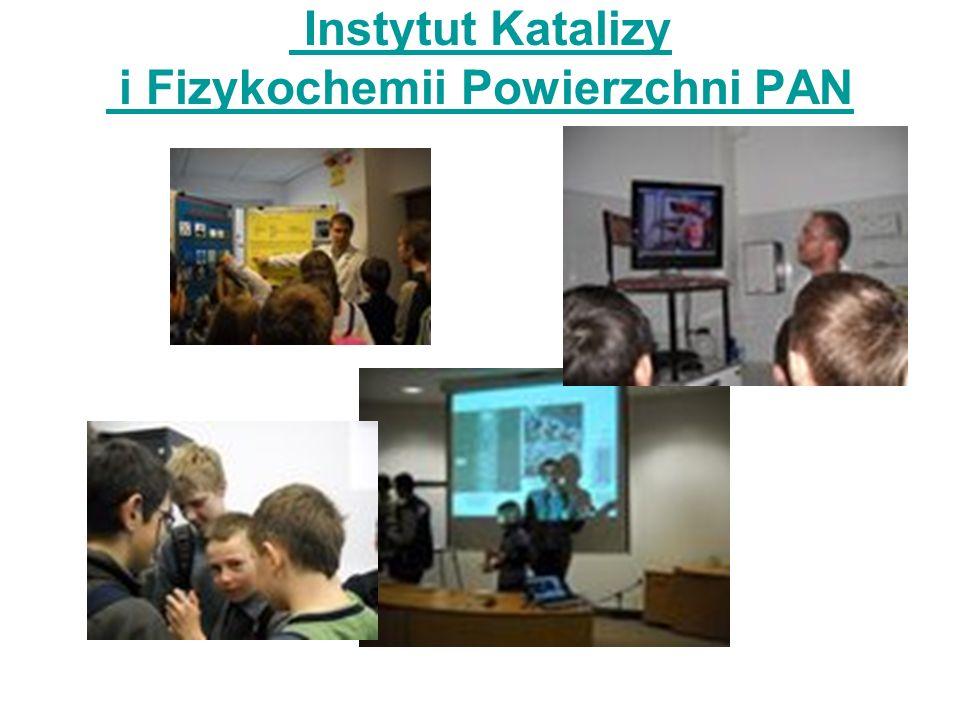 Instytut Katalizy i Fizykochemii Powierzchni PAN