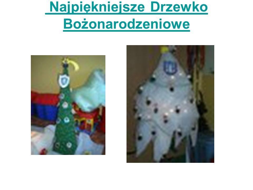 Najpiękniejsze Drzewko Bożonarodzeniowe