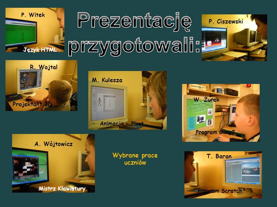 R.Wojtal M. Kulesza P. Ciszewski T. Baran A. Wójtowicz P.