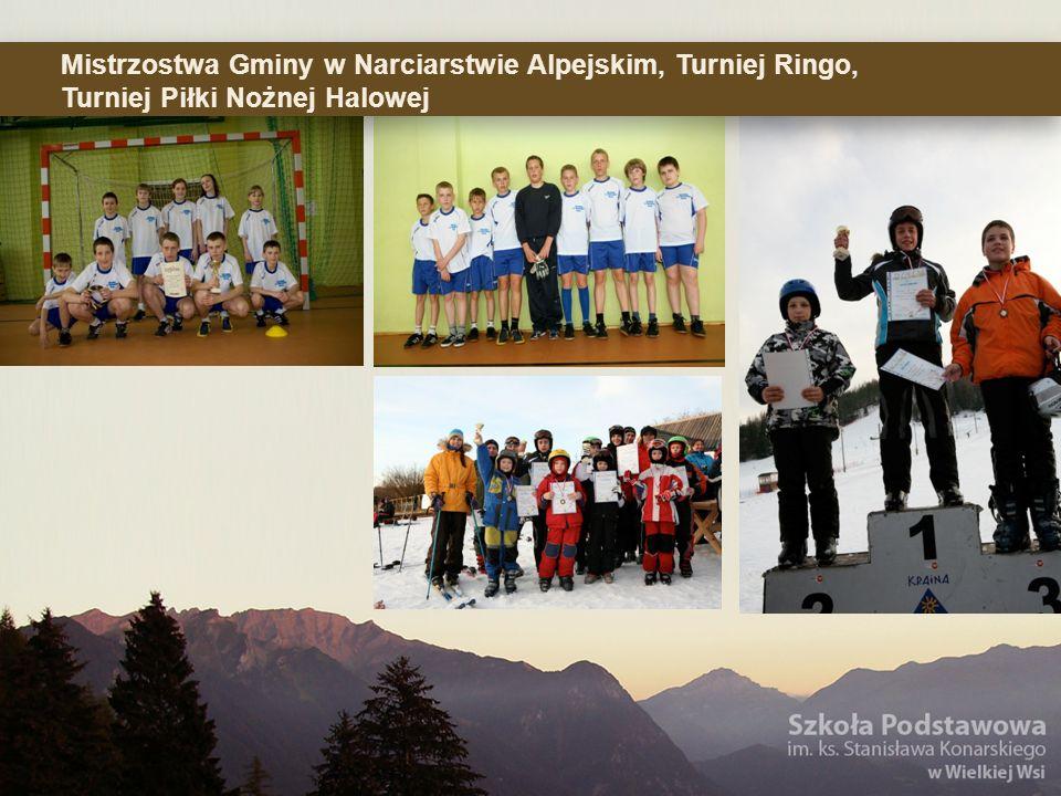 Mistrzostwa Gminy w Narciarstwie Alpejskim, Turniej Ringo, Turniej Piłki Nożnej Halowej