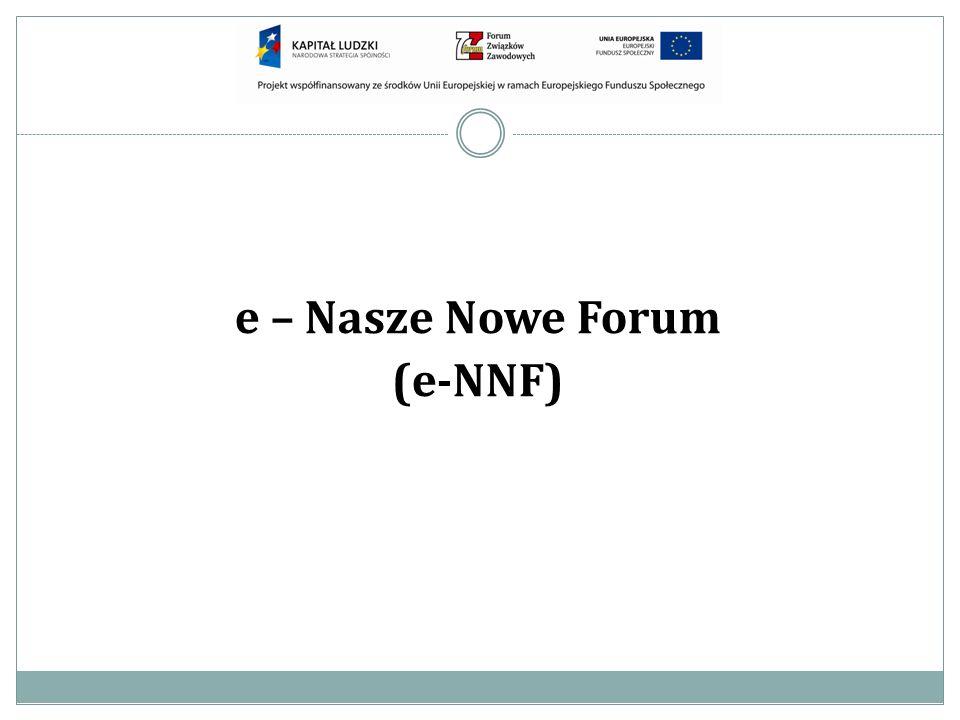 e – Nasze Nowe Forum (e-NNF)